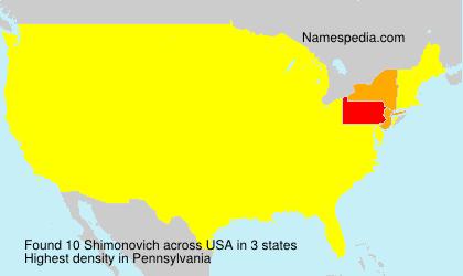 Shimonovich - USA