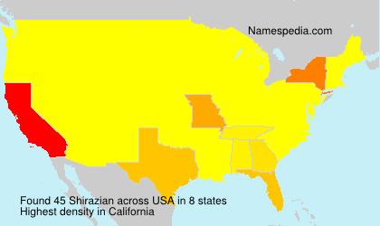 Shirazian - USA