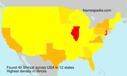 Surname Shirsat in USA