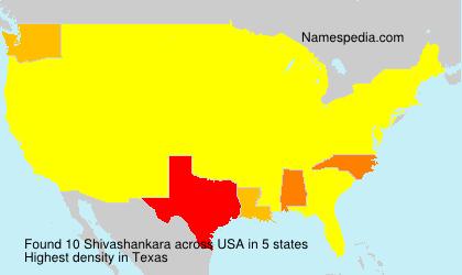 Familiennamen Shivashankara - USA
