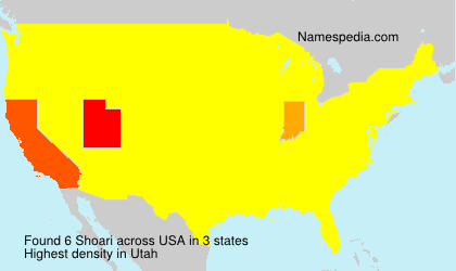 Surname Shoari in USA