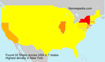 Surname Shpits in USA