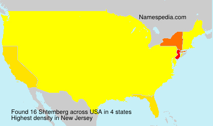 Surname Shtemberg in USA
