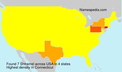 Familiennamen Shtramel - USA