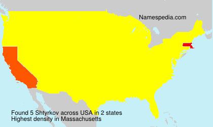 Shtyrkov - USA
