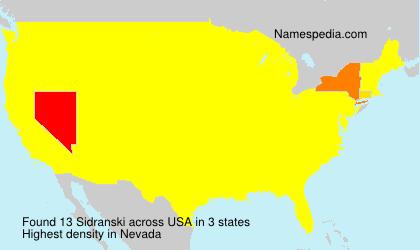 Sidranski - USA