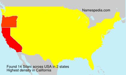 Surname Silani in USA