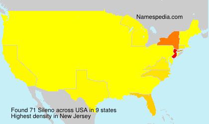 Surname Sileno in USA