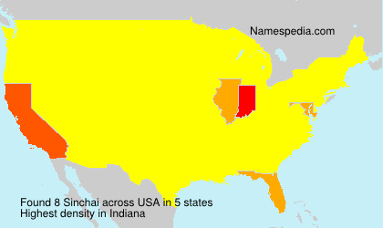 Surname Sinchai in USA