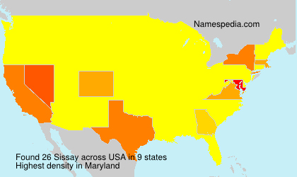 Surname Sissay in USA