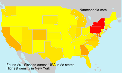 Surname Sissoko in USA