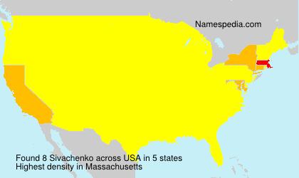 Surname Sivachenko in USA