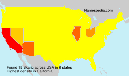 Surname Skaric in USA