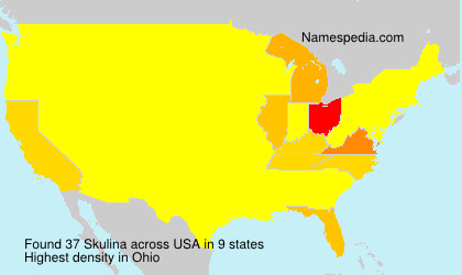Surname Skulina in USA