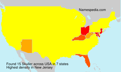 Surname Skuller in USA