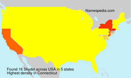 Surname Skydel in USA