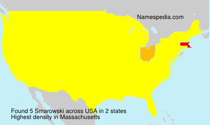 Surname Smarowski in USA