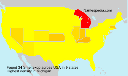 Surname Smeltekop in USA