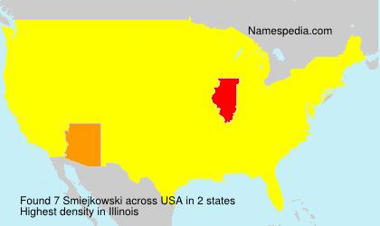 Surname Smiejkowski in USA