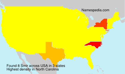 Surname Smir in USA