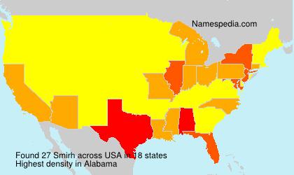 Surname Smirh in USA