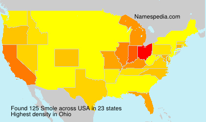 Surname Smole in USA