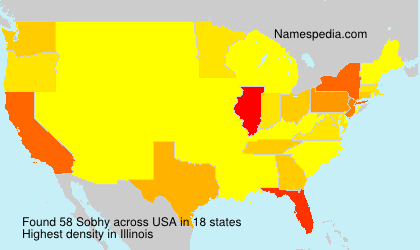 Surname Sobhy in USA
