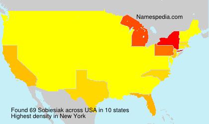 Surname Sobiesiak in USA