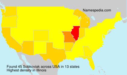Surname Sobkoviak in USA