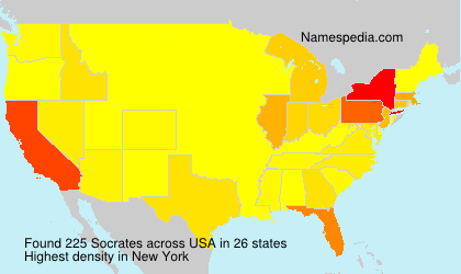 Surname Socrates in USA