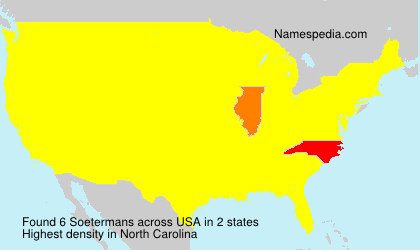 Surname Soetermans in USA