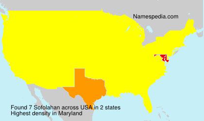 Sofolahan - USA