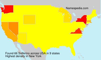 Surname Solferino in USA