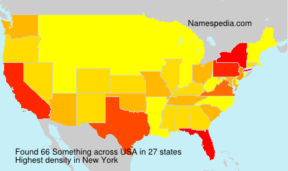Surname Something in USA