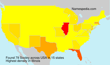 Surname Sooley in USA