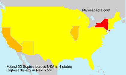 Sopicki - USA