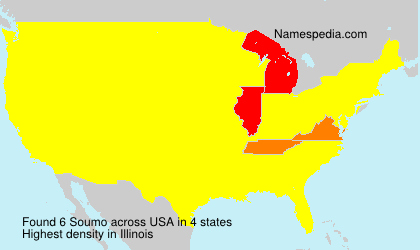 Surname Soumo in USA