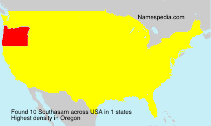 Surname Southasarn in USA