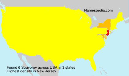 Surname Souvorov in USA