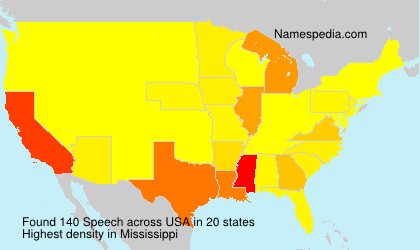 Surname Speech in USA