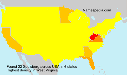 Surname Spelsberg in USA