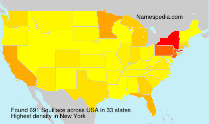 Surname Squillace in USA
