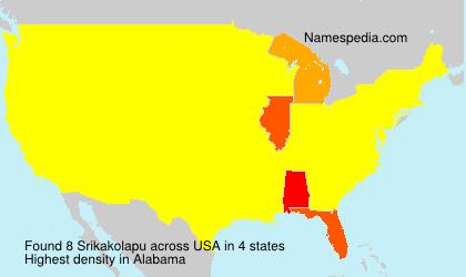 Surname Srikakolapu in USA