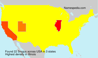 Surname Srogus in USA