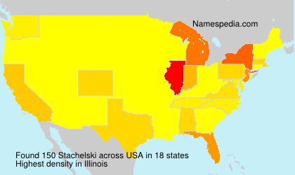 Familiennamen Stachelski - USA