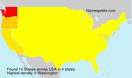 Surname Staeps in USA
