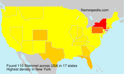 Surname Stammel in USA