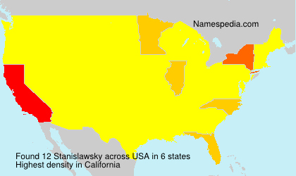 Surname Stanislawsky in USA