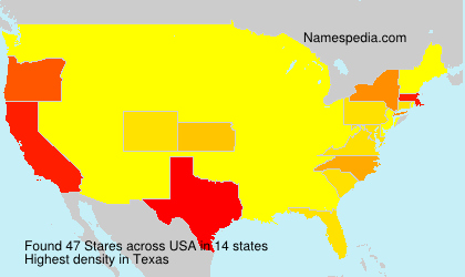 Surname Stares in USA