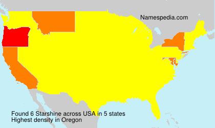 Surname Starshine in USA